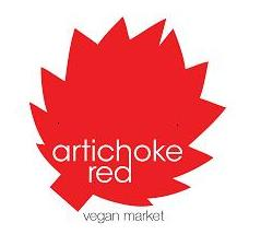 artichoke red vegan market